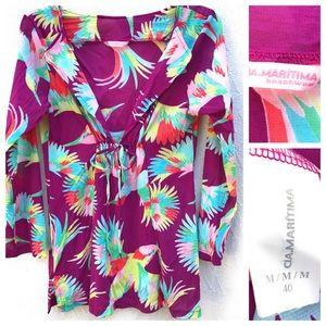 CIA.Maritima Beachwear Cover-Up Dress